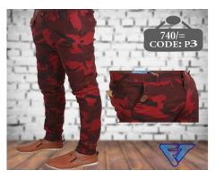 Menz Slim Fit Stretch Cargo