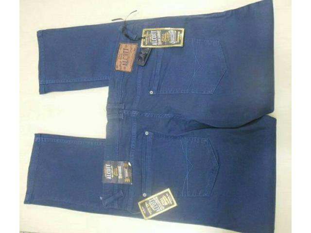 100% orginal Men's twill long pant-6500pic - 2/3