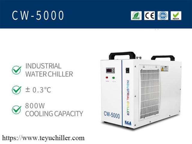 Small water chiller CW5000 for CO2 laser engraver cutter - 2/2